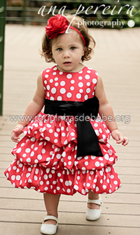 Vestido Minnie