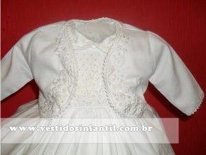 vestido branco para menina e bebe