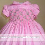 vestidos para meninas rosa