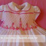 belo vestido social infantil