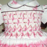 vestidos para meninas bordado