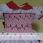 vestidos para meninas moranguinho