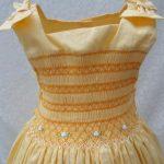 roupas de casamento infantil amarelo