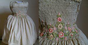 roupas de casamento infantil flores