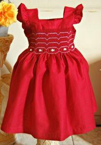 roupas de casamento infantil vermelho