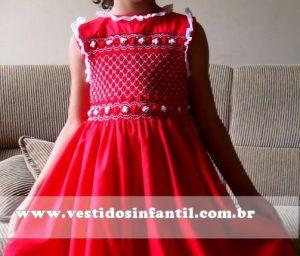 vestido social infantil menina