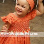 vestidos infantil em tecido bebe