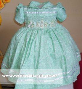 vestido de batizado