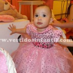 vestido de festa de 1 ano