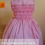 vestido de formatura de criança