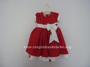 Vestido da Moranguinho Baby