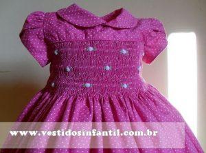 Vestido Infantil Casa de Abelha