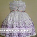 vestido infantil para daminha