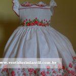 vestido de daminha para meninas