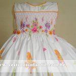 vestido branco bebe