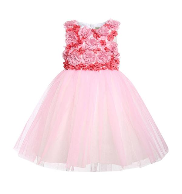 Vestido infantil de princesa