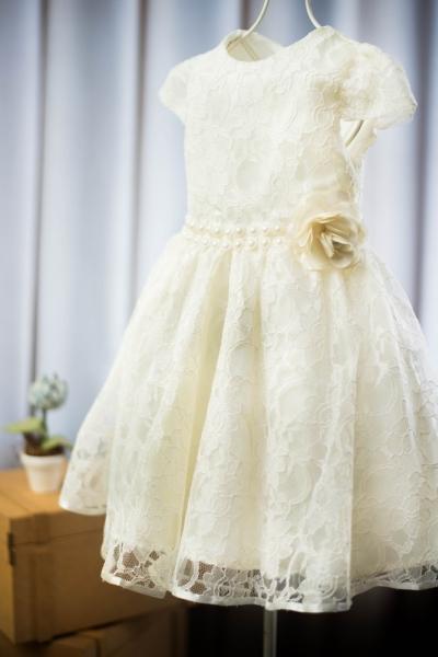 Vestido infantil para casamento bebê de 1 ano