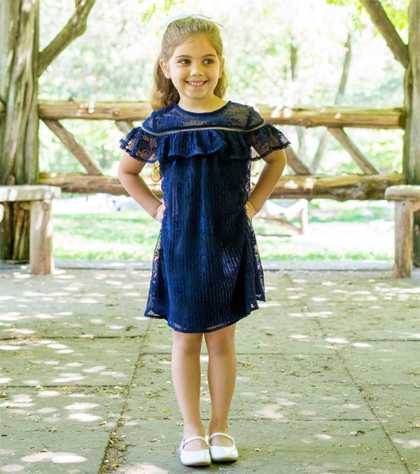 Vestido menina social
