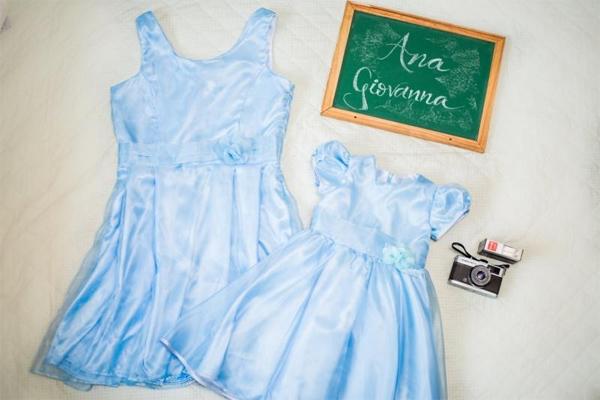 Vestido infantil Cinderela