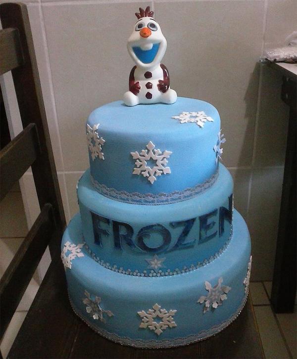 Bolo Fake Frozen