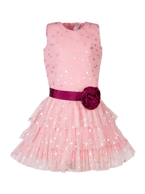 vestidos de formatura infantil rosa