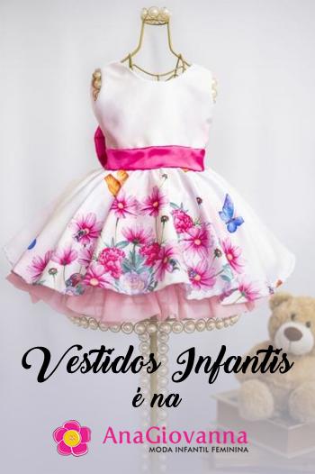Ana Giovanna Vestidos Infantis Comprar Online