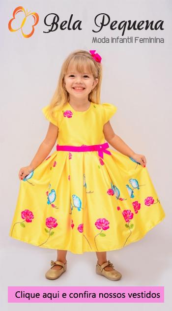 Bela Pequena Vestidos Infantis Comprar Online