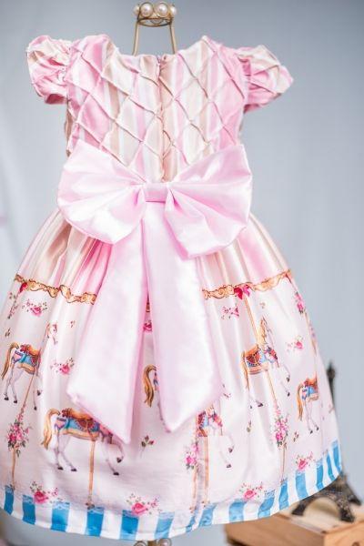 Roupa infantil vestido