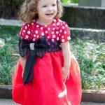 Vestido da Minnie para meninas